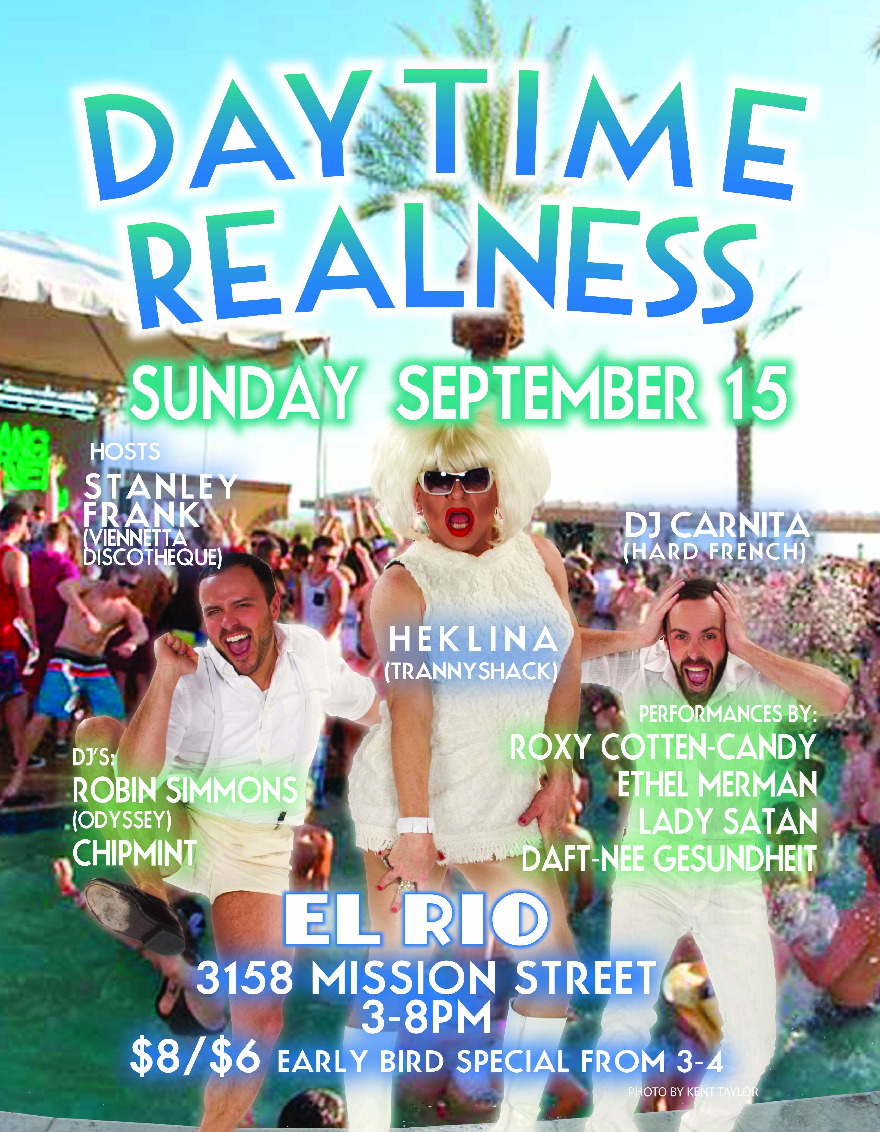 Drag Bingo Oakland Daytime Realness Sept